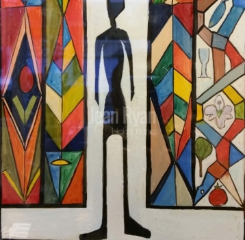 Standing in Stainedglass